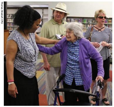 Dream Comes True for Retired Librarian