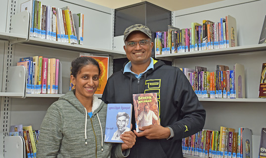 Patrons welcome World Languages collection