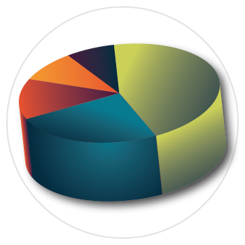 library statistics icon
