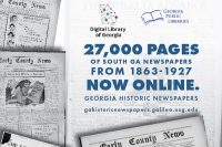 South Georgia Newspapers added to Digital Library of Georgia
