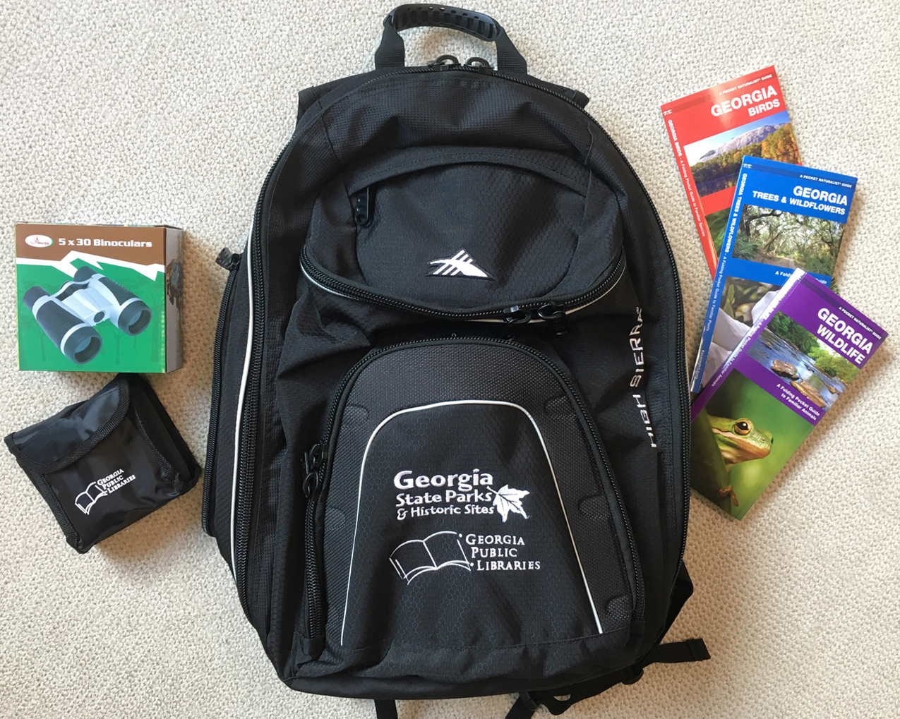 State Parks partnership backpack