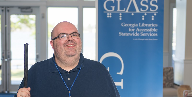 GLASS accessibility patron