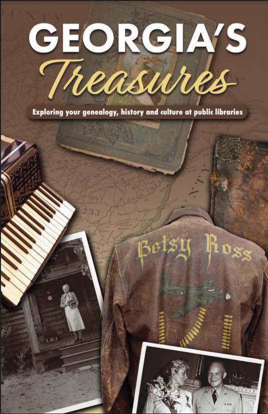 Georgia's treasures booklet cover