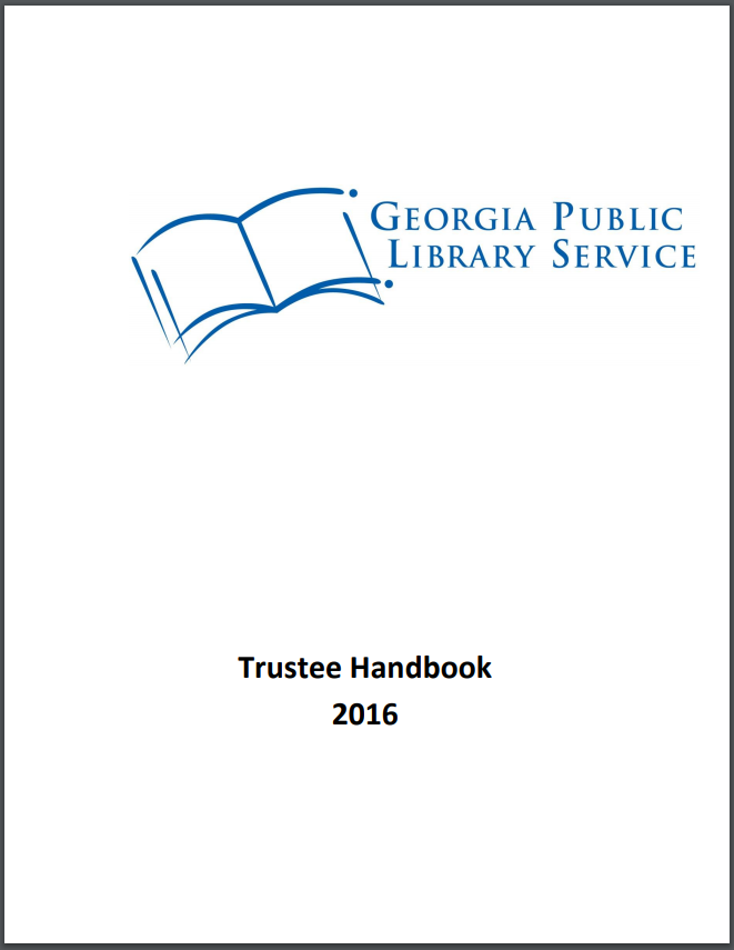 library trustee handbook cover
