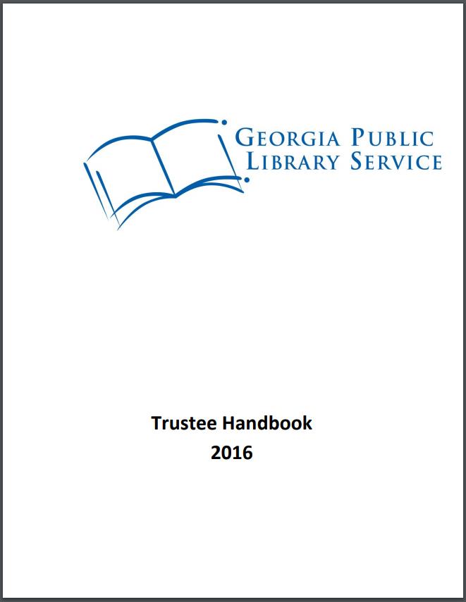 library trustee handbook cover