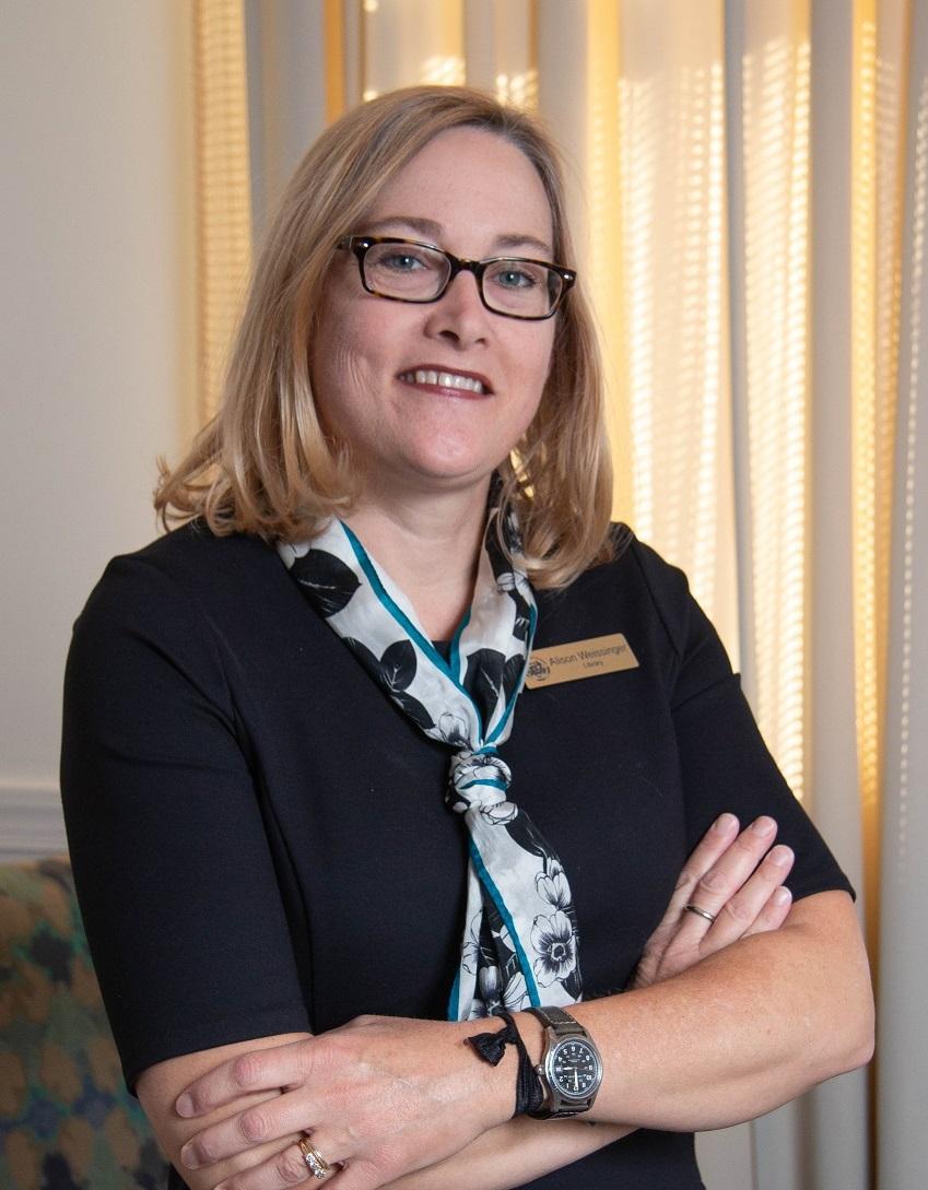 DeKalb County Public Library director Alison Weissinger