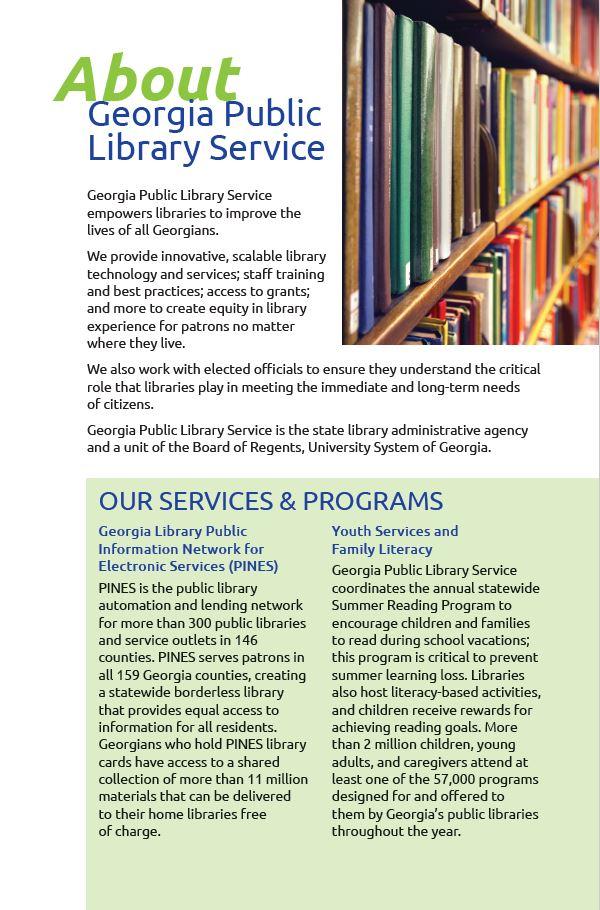 About GPLS marketing fact sheet