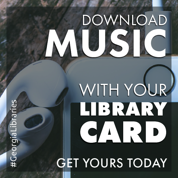 library card benefits social media graphic