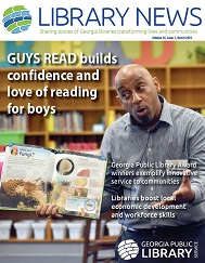 Georgia Public Library Service March 2019 newsletter cover