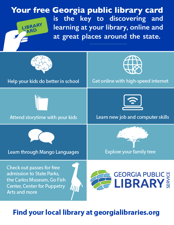 do more with your library card graphic