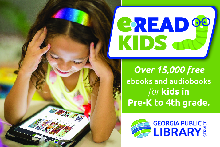 Build students' reading skills with eRead Kids digital library