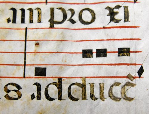 16th century liturgical codex displayed in Brunswick Library now available through Digital Library of Georgia