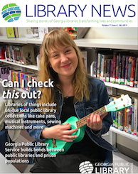 Georgia Public Library Service July 2019 newsletter cover