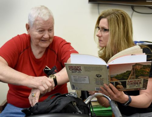 Libraries create equity of access  for older adults