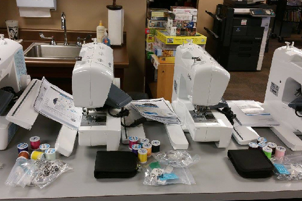 sewing machines available at a Georgia public library