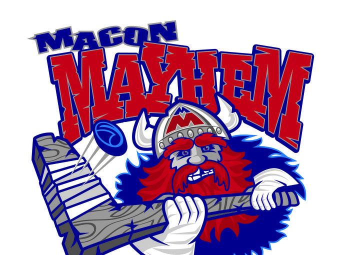 Macon Mayhem Hockey Team Library Partnership Program