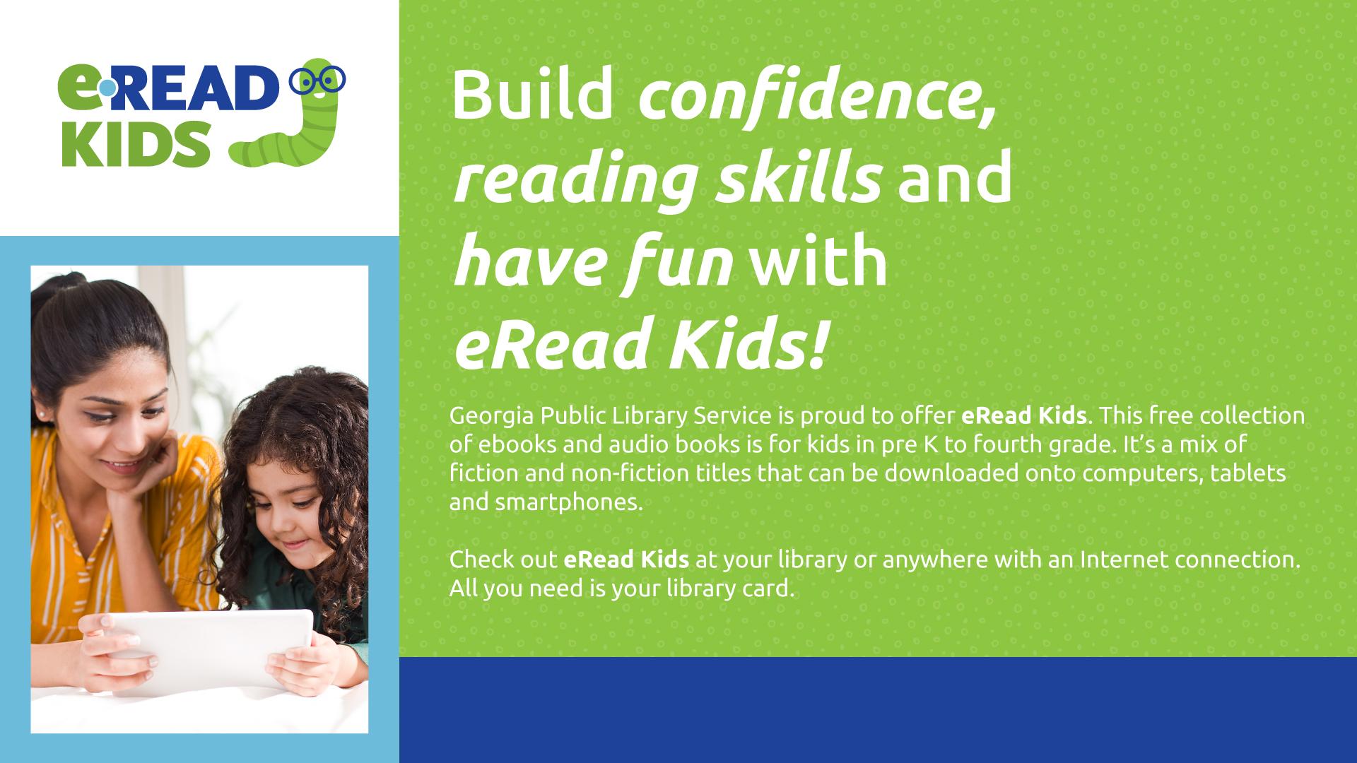 E-Read Kids graphic for monitors