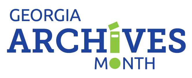 georgia archives month logo