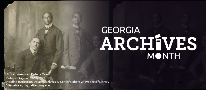 georgia archives month website banner