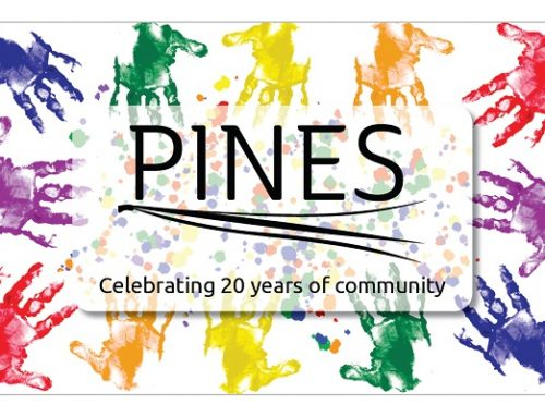 Announcing the PINES 20th anniversary library card design contest winner!