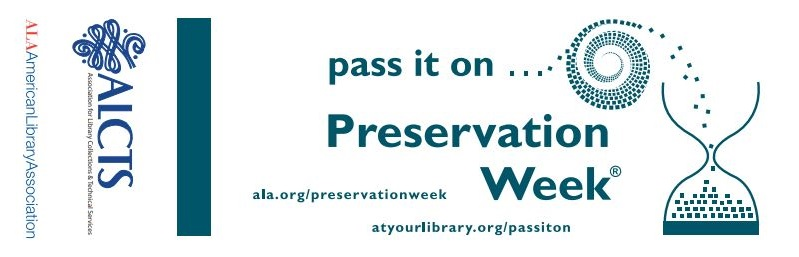 preservation week bookmark with quick tips