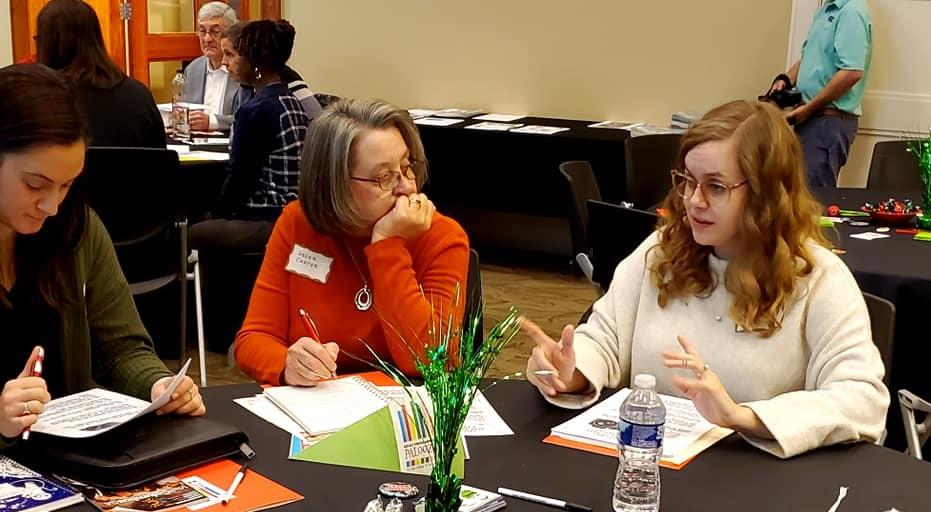 ladies attending workshop