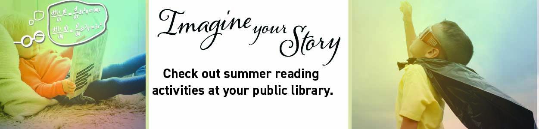 summer reading website banner