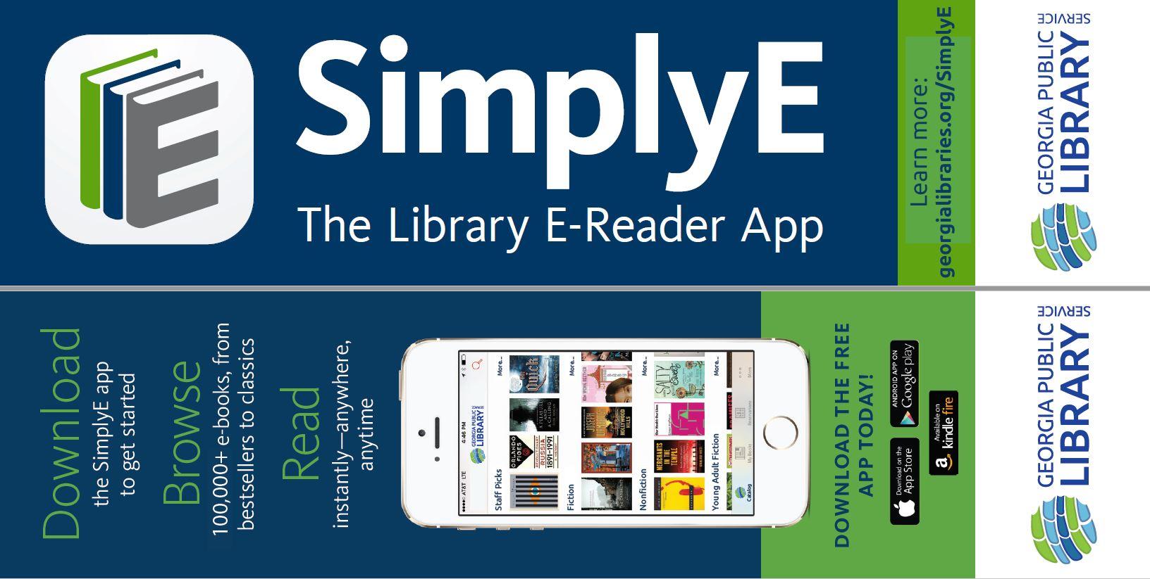 SimplyE bookmark