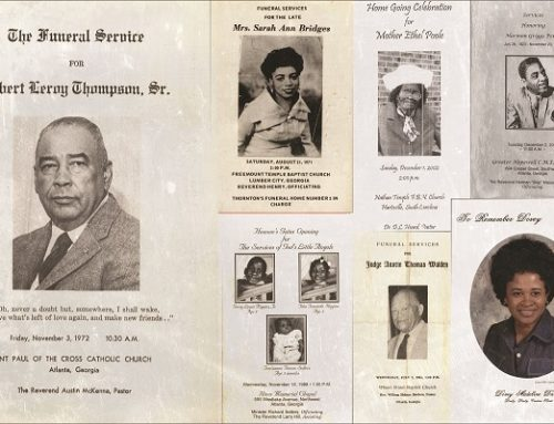 New collection features more than 100 years of digitized African American funeral programs