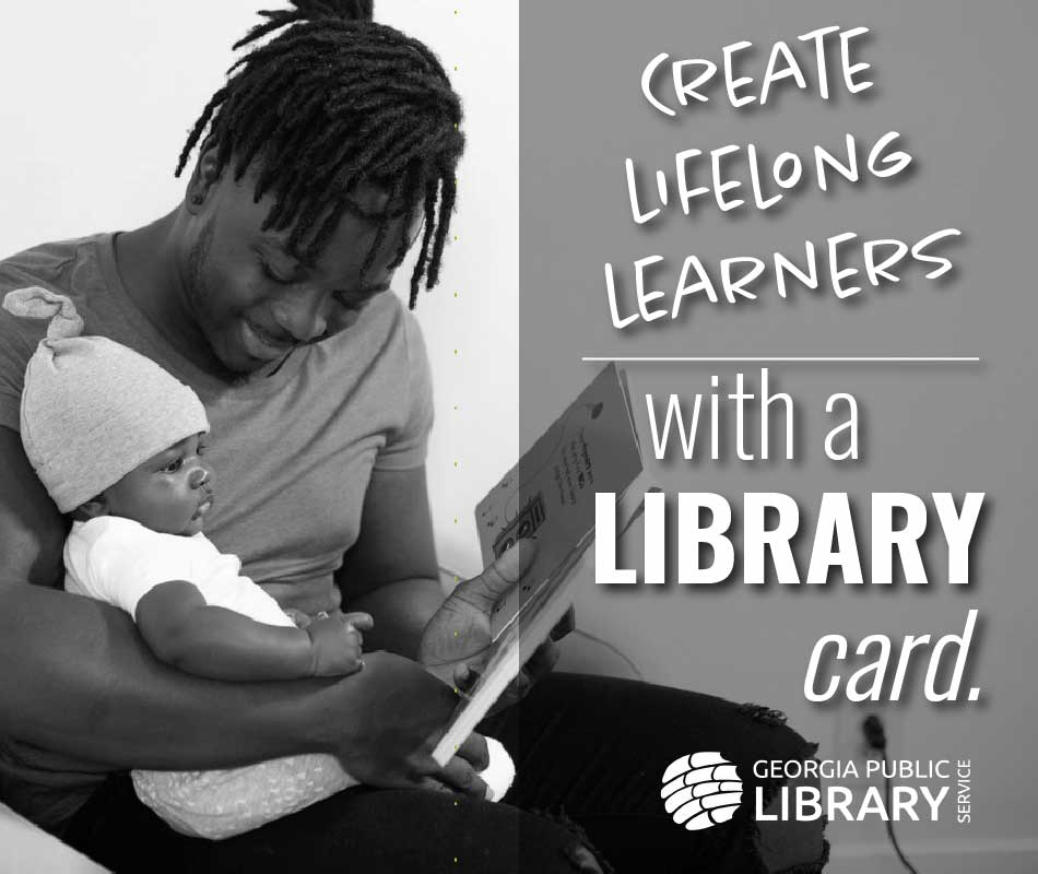 create lifelong learners with a library card