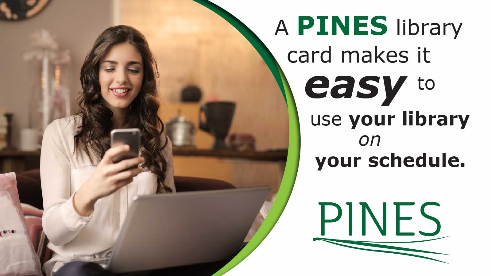 pines card makes it easy