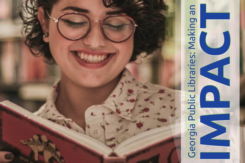 georgia libraries impact graphic