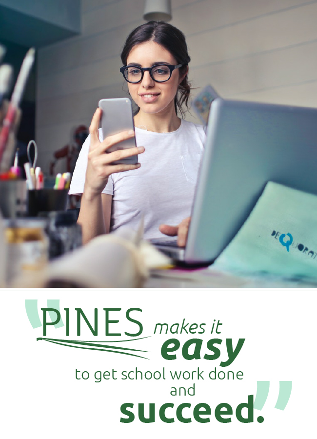 PINES makes it easy image