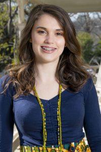Portrait of intern Elizabeth Goggin.
