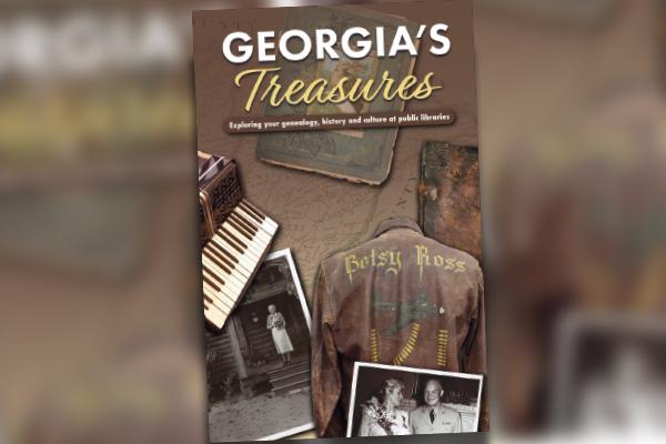 Georgia's treasures booklet cover image