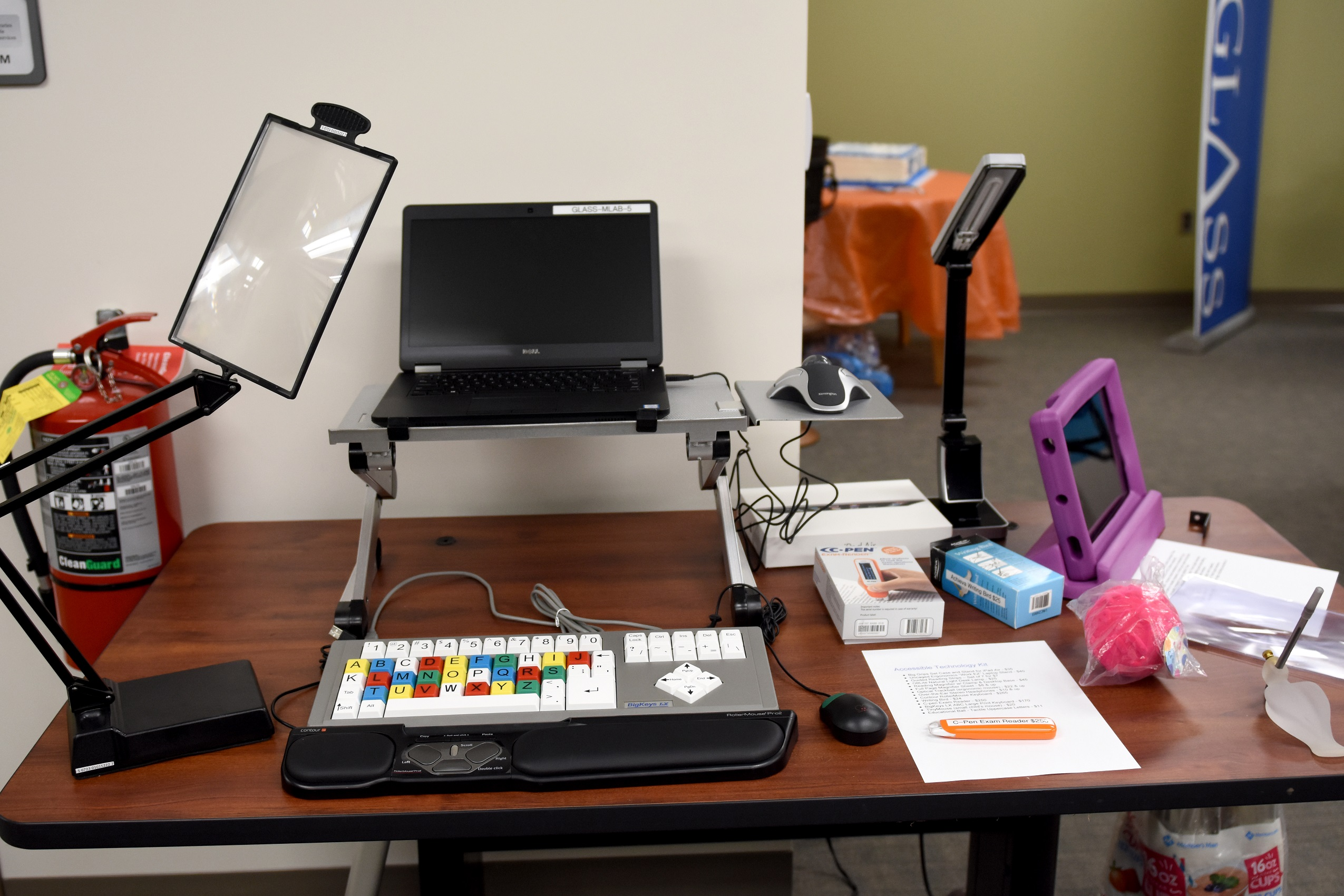 library technology for blind and print disabled patrons