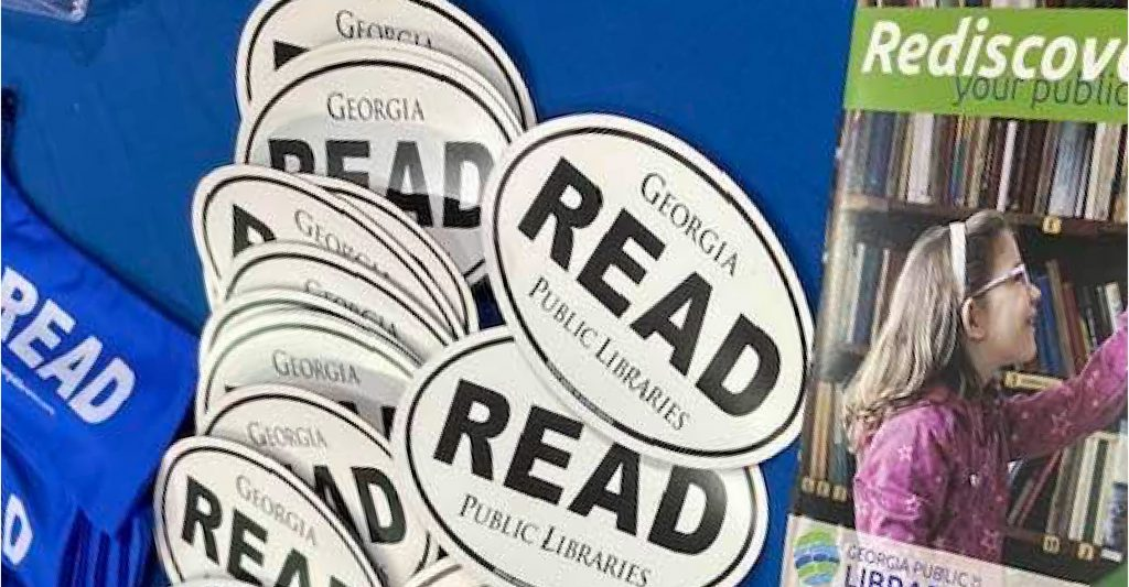 library read stickers