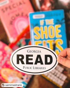 photo of READ sticker